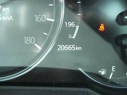 ワンオーナー車の走行20665キロ