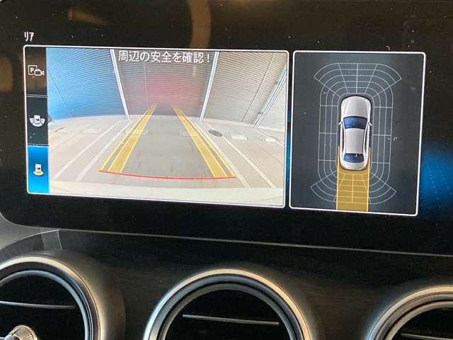 ・バックモニターで駐車も安心です。