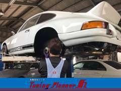 代表の丸山です。お車の購入、整備についてもお任せください。