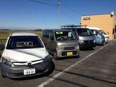 厳選した商用車を展示。輸入車・クロカン4WDを展示しています!
