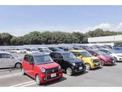 中古車在庫約50台をそろえております!お探しのお車がない場合は当社中古車在庫約500台の中からお探しもできます!