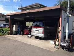自社整備工場も完備しておりますので、車検整備もお任せ!
