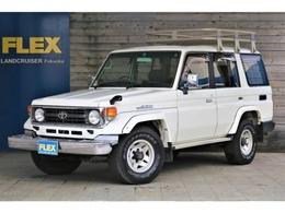 トヨタ ランドクルーザー70 4.2 ZX ディーゼル 4WD マニュアル車