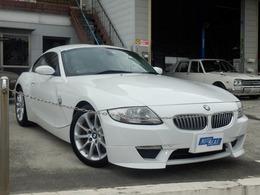 BMW Z4クーペ 3.0si ナビ ETC 右ハンドル ディーラー車