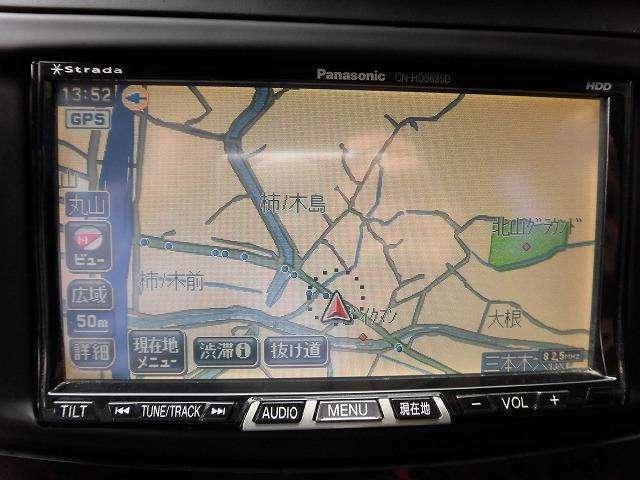 starada製の2016yバージョンUP地図搭載のHDDナビ装備です!HDDなのでミュージックサーバーとDVD再生も完備でドライブに音楽がかかせない方も安心です!!