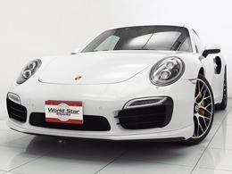 ポルシェ 911 ターボS PDK スポーツクロノPKG/2015yモデル/禁煙車