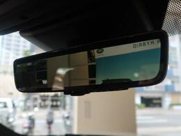 【スマートリアビューミラー】ルームミラー部分に車輌後方の映像を映し出してくれます。通常のミラーと比べ視野角も2倍近く広く、雨天や夜間も気にならない視界の確保が可能です★