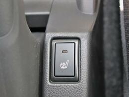 ◇シートヒーター 冬場に重宝するシートヒーター付で、腰にもやさしいですね