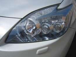 LEDヘッドライト ヘッドライトもきれいです。