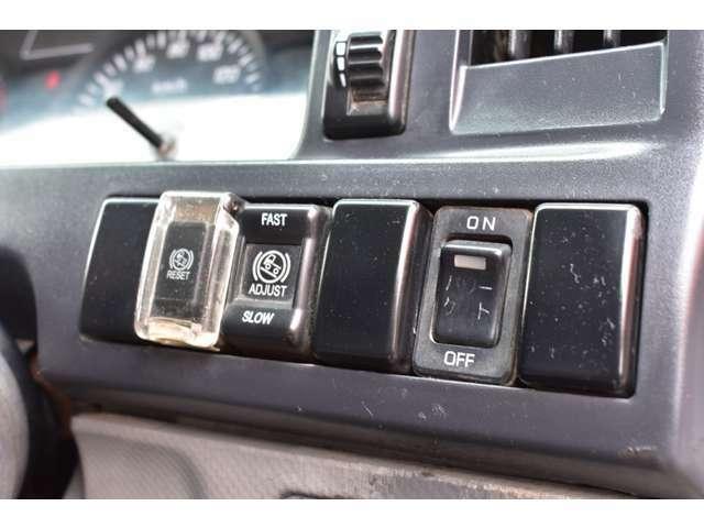 ■パワーゲートのスイッチや坂道発進補助などのスイッチも動作確認済■
