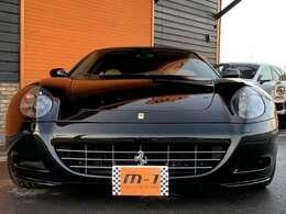 平成16年式(04y)フェラーリ612スカリエッティF1!正規ディーラー車!左ハンドル!フェラーリV12エンジン!F1マチック!クライスジーク可変マフラー付!OP18インチ19インチホイル付!