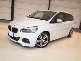 BMW 2シリーズグランツアラー 218d Mスポーツ 禁煙車 純正ナビTV Bモニター ACC ドラレコ