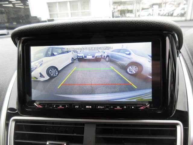 駐車の時に便利な機能はバックカメラ
