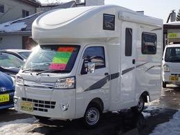 ダイハツ ハイゼットトラック 660 スタンダード SAIIIt 3方開 4WD JP STAR キャンピングカー登録済み