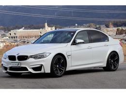 BMW M3セダン M DCT ドライブロジック OP:鍛造19インチAW アダプティブMサス