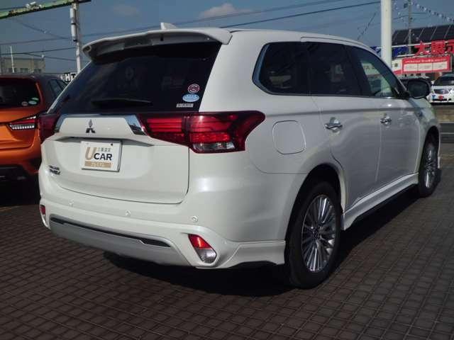 中古車保証はお車の品質、状態に合わせて三つの三菱UCAR制度がございます。