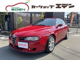 アルファ ロメオ アルファ156 TI 2.0JTS Tベルト交換済/レザー内装/車検2年