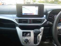 便利なオートエアコンは設定温度を合わせるだけで、自動で車内を快適な空間にしてくれます。