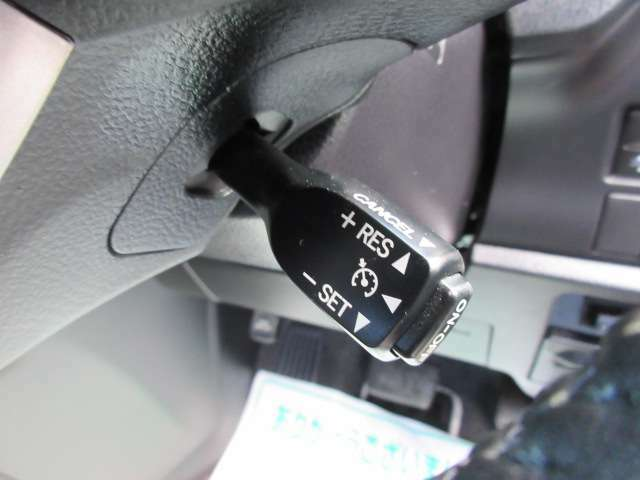 クルーズコントロール機能付き♪ 高速走行もより快適なドライブができます♪ 長距離ドライブでも安心です♪