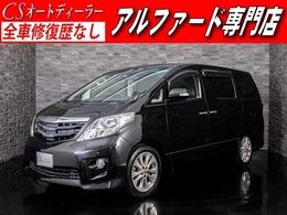 トヨタ アルファード 2.4 240S 黒革調 SDナビ 両自ドア リアモニター ETC