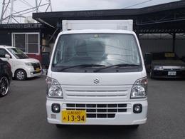 スズキ キャリイ トラック660冷凍冷蔵車2名 P/S P/W A/C オートマ キーレス