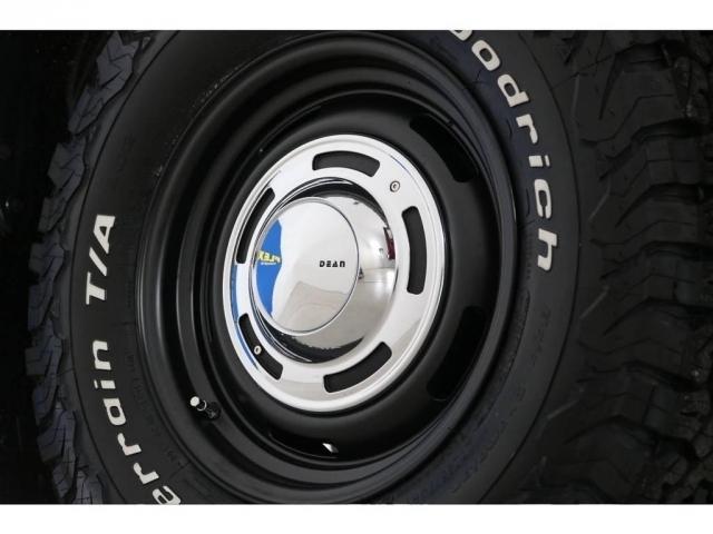 新品DEAN16インチホイール&新品BFグッドリッチATタイヤを装着致しました!