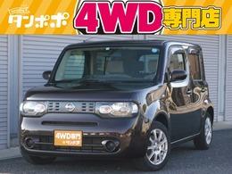 日産 キューブ 1.5 15X FOUR 4WD CDデッキ 社外アルミホイール