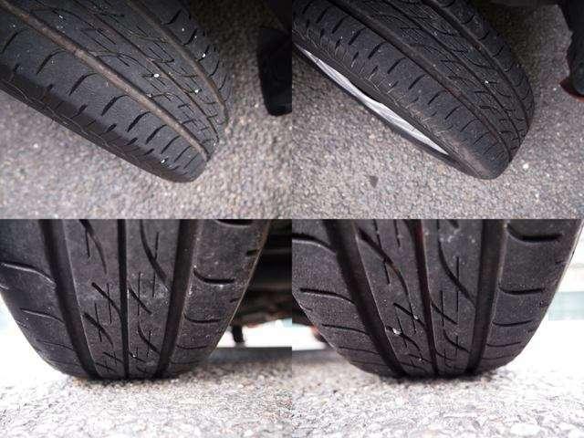 タイヤの溝もまだまだありますよ♪