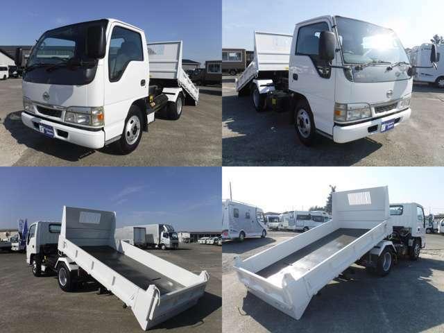 各トラックメーカーでは製造しておらず、架装専門業者によって作られています!