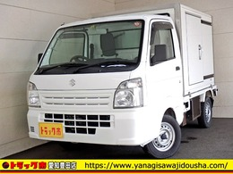 スズキ キャリイ 冷蔵冷凍車 -5℃ 20℃ サイドドア ガソリン AT車