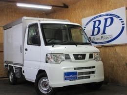 日産 クリッパートラック 660 DX 4WD 冷蔵冷凍車 バックカメラ 切替4WD