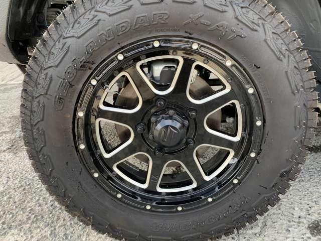 ☆オプションの社外タイヤホイール☆お好みのホイール・タイヤをご用意することもできます!