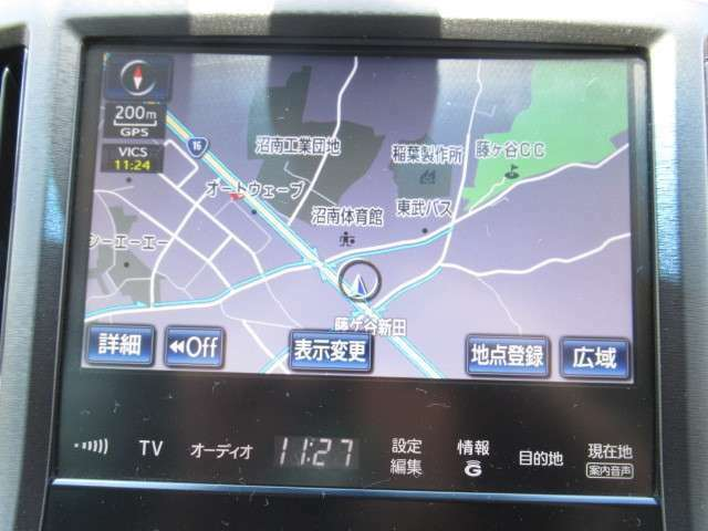 純正HDDナビ CD DVD ミュージックサーバー フルセグ フロントサイドバックカメラ ブルートゥース!