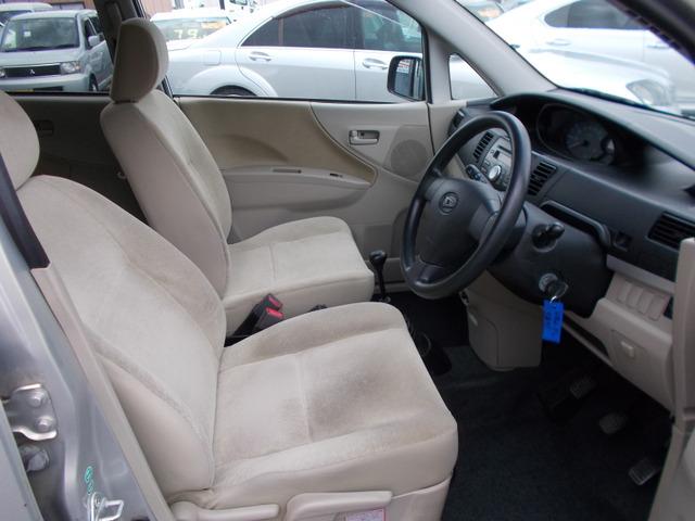 車内はとっても綺麗です。もちろん内外装をクリーニングしてお客様のご来店をお待ち致して降ります。
