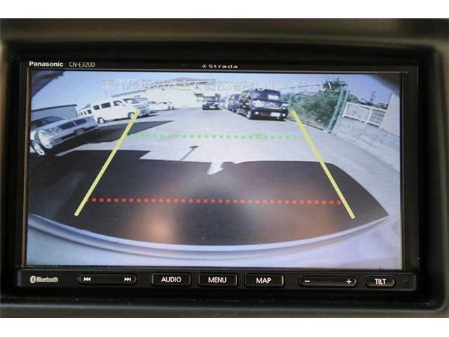 バックカメラももちろんついておりますので安心して駐車していただけます。