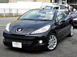 プジョー 207CC グリフ 正規D車 後期 本革 ナビ地デジTV ETC電動OP