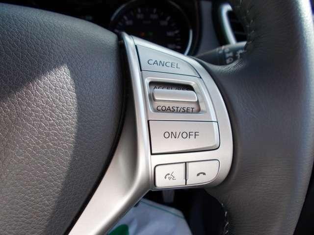 ●クルーズコントロール● 一定速度の走行をアシストしてくれるクルーズコントロール付き!お好みの速度を設定すれば、アクセルを踏まずに速度を保って走行してくれます!高速道路などの走行に便利!