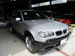BMW X3 2.5i 4WD リペア済 BBSタイプ19インチアルミ