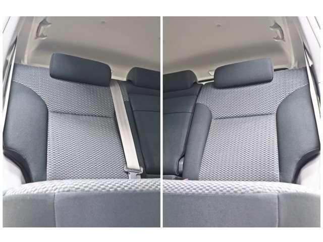 セカンドシートも広々としていてとても清潔感が御座います。大人数でのドライブでは大活躍ですね(*^^)v