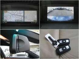 i-Drive HDDナビ☆車庫入れも安心バックモニター付♪ミラー内蔵ETC/メインキー×2個&エマージェンシーキーも完備。