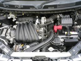 1.5リッタータイミングチェーン式エンジン。