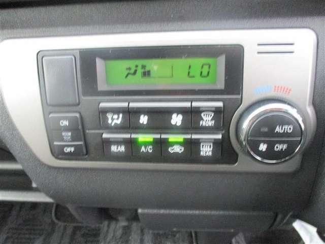 【オートエアコン】 簡単な温度調節で快適な室内♪