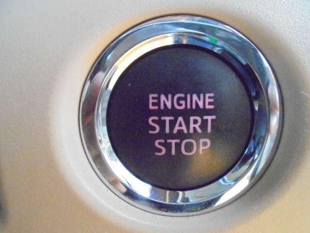 プッシュスターターです!鍵はポケットなどに入れたまま、ボタンをポチっと押せばエンジン始動!一度使えば手放せない装備品です!