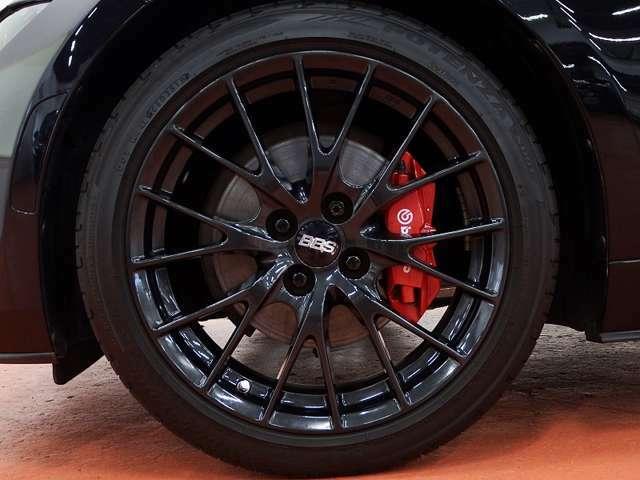 ●BBSアルミホイール●ブレンボ社製ブレーキキャリパー