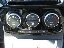 オートエアコン!車内の温度は自動で調整!
