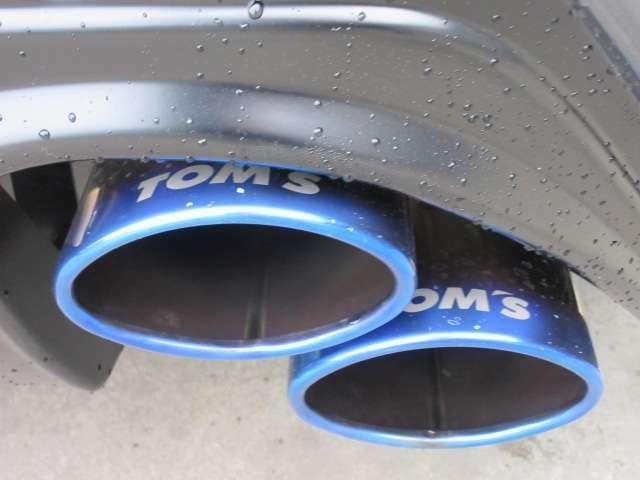 トムス4本出しマフラー♪ 鮮やかなチタンカラーと斜めに重なったデザインがカッコいい仕上がりです♪