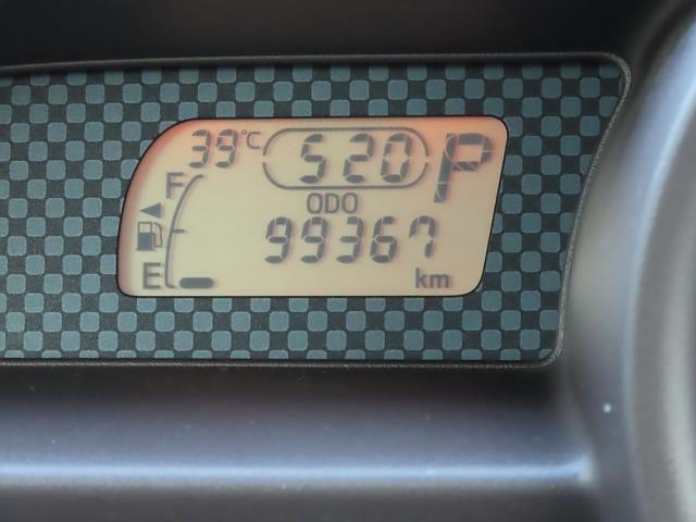 走行距離は写真撮影時で99,367キロです。