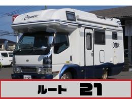 三菱ふそう キャンター 5.2 ハイキャブ セミロング 全低床 DX ディーゼル キャンピング ナビ フルセグ Bモニター