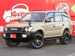 トヨタ ランドクルーザープラド 2.7 TX リミテッド 4WD 丸目 SR 社外AW SDナビ ETC ルーフレール