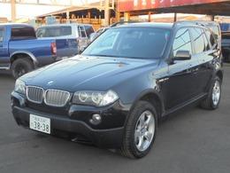 BMW X3 xドライブ25i 4WD ディーラー車 純正ナビ パワーシート ETC